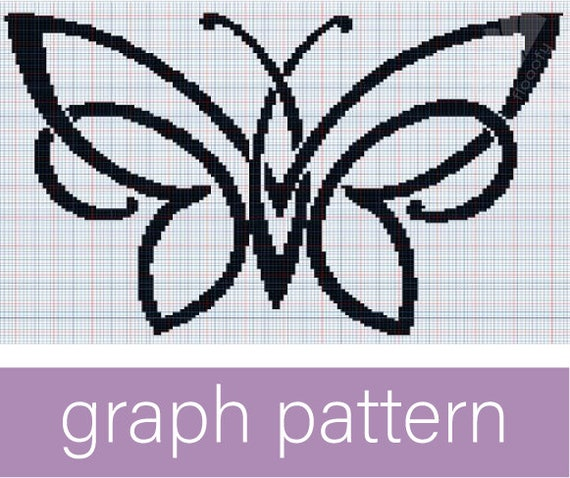 Tribal Butterfly (Medium) Graph Pattern