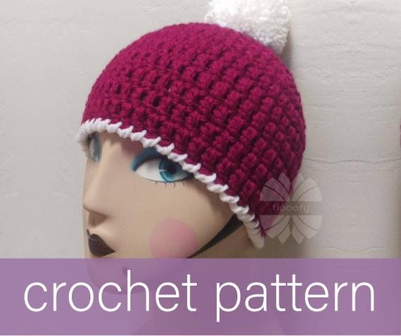 Beanie Hat Crochet Pattern