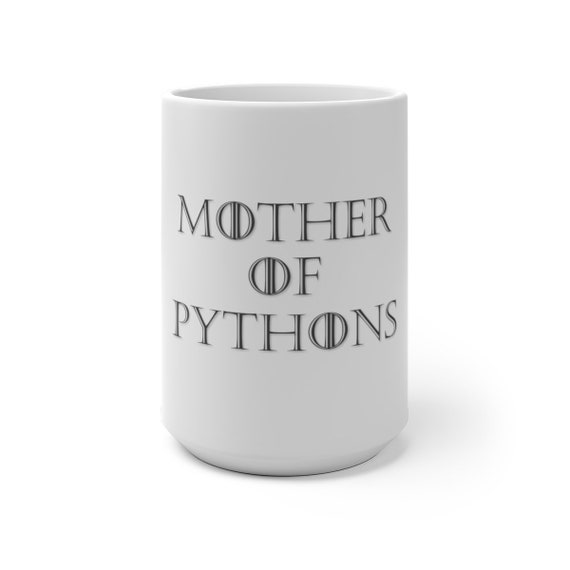 Mother of Pythons Color Changing Mug