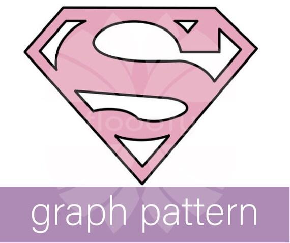 Supergirl (Medium) Logo Graph Pattern