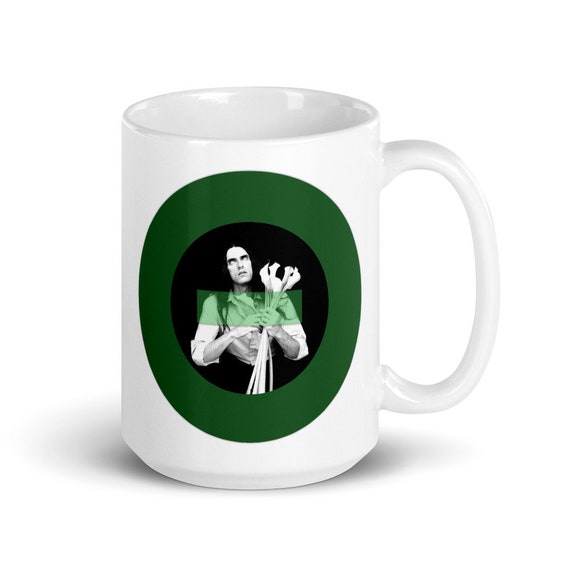 Lilies - Glossy Ceramic Coffee Mug - Type O Negative - Valentine's - Gothic - Halloween - Peter Steele