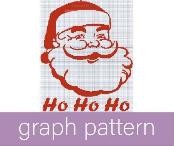 Ho Ho Ho Santa (Medium) Graph Pattern