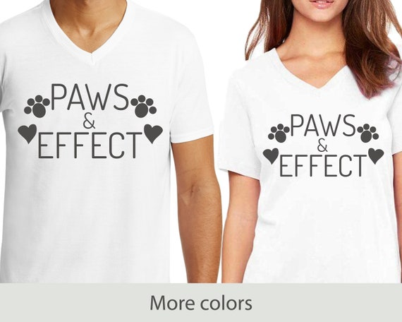 Paws & Effect - V-Neck T-Shirt