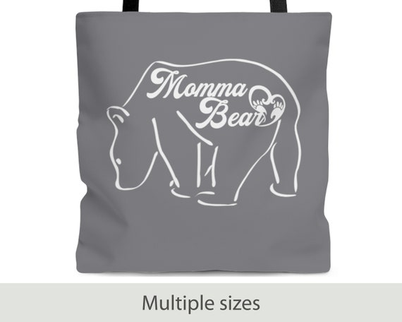 Momma Bear Tote Bag (3 Sizes)