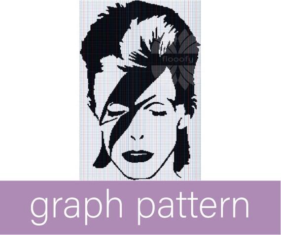 Ziggy Stardust (Medium) Graph Pattern (Fan Inspired)