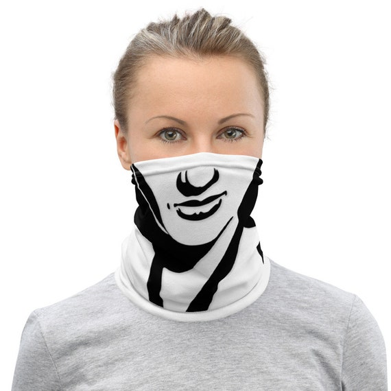 Lily Munster - Neck Gaiter - Face Mask - Social Distancing - Gothic - Funny