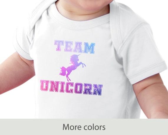 Team Unicorn - Infant Fine Jersey Bodysuit