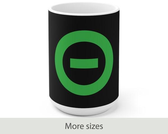 Type O Negative Logo - White Ceramic Coffee Mug - Peter Steele - Gothic - Goth - Danzig