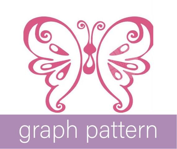 Pink Butterfly (Medium) Graph Pattern