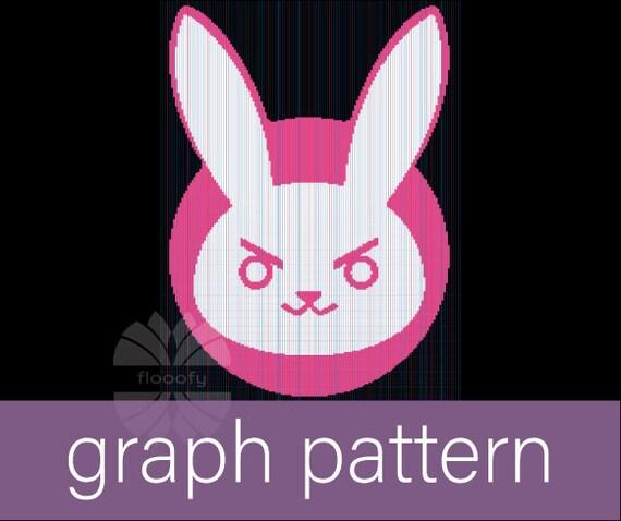 Diva Bunny (Medium) Graph Pattern