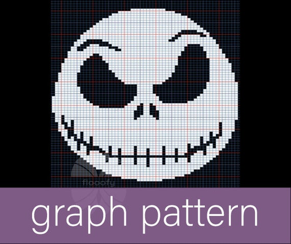 Jack Skellington (Small) Graph Pattern