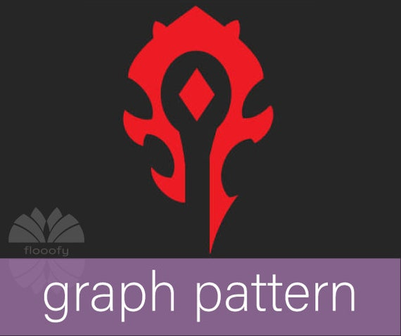 Horde Emblem (Medium) Graph Pattern