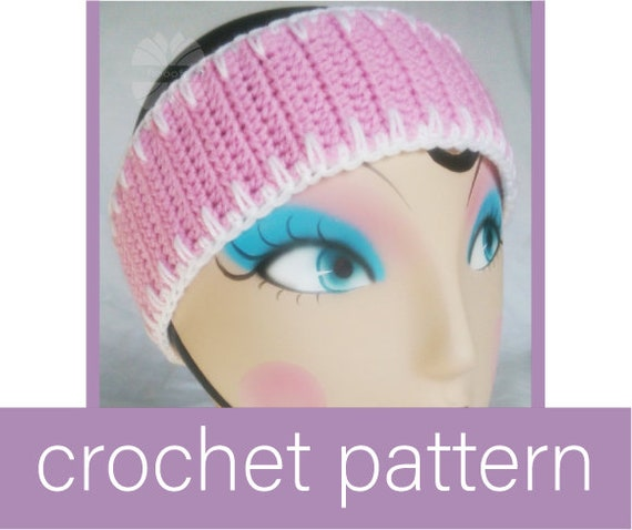 Lovely Spikes Crochet Ear Warmer Pattern
