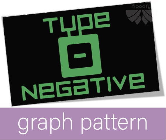 Type O Negative (Large) Graph Pattern