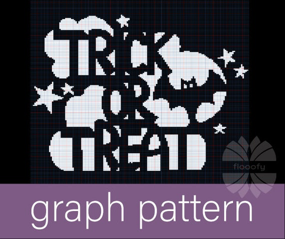 Trick Or Treat Bats (Medium) Graph Pattern