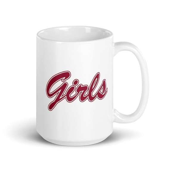 Girls - Glossy Ceramic Mug - Friends - TV Show - Retro - Best Friends - BFF - Gifts for Her - 90s - Coffee