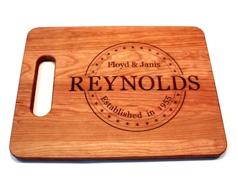 Personalized Wedding Gift Bridesmaid Gift Anniversary Gift For Couple Engagement Gift Cutting Board Wedding Gift Ideas Bridal Shower Gifts