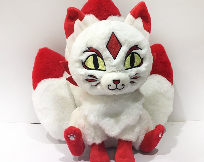 SALE!!! Kitsune Plush Doll