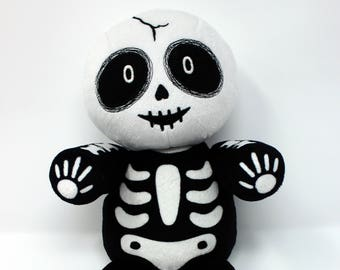 Vincent the Skeleton Plush Doll