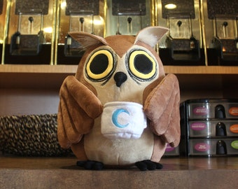 B-Grade Plush - Edgar the Night Owl