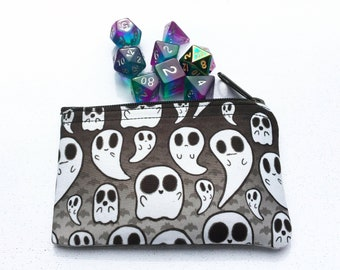 Ghosts Coin / Dice Pouch