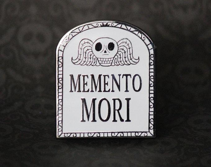 "2"" Hard Enamel Pin Memento Mori"