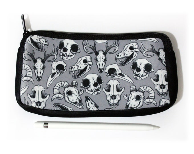 Animal Skulls Pencil Pouch