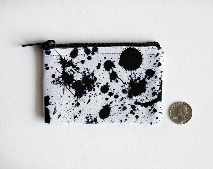 Inky Coin Pouch