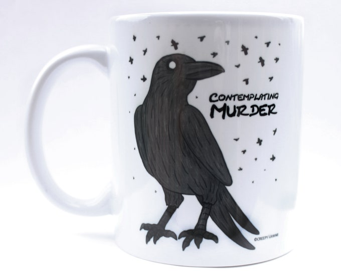 Contemplating Murder Mug