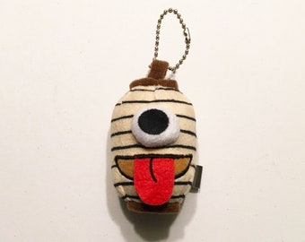 Mini Chochin Obake Paper Lantern Ghost Keychain Plush