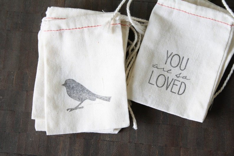 all sizes Cotton Drawstring Bags