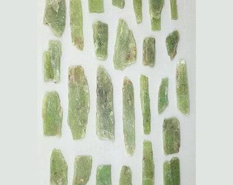 Green Kyanite Gemstone   Lot grky2   African 1/4lb
