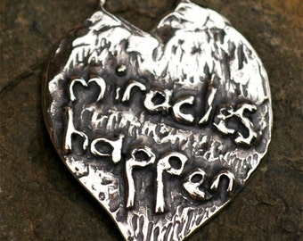 Miracles Happen in Sterling Silver 230s