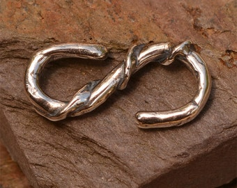 Sterling Silver S Hook Clasp, FN-432