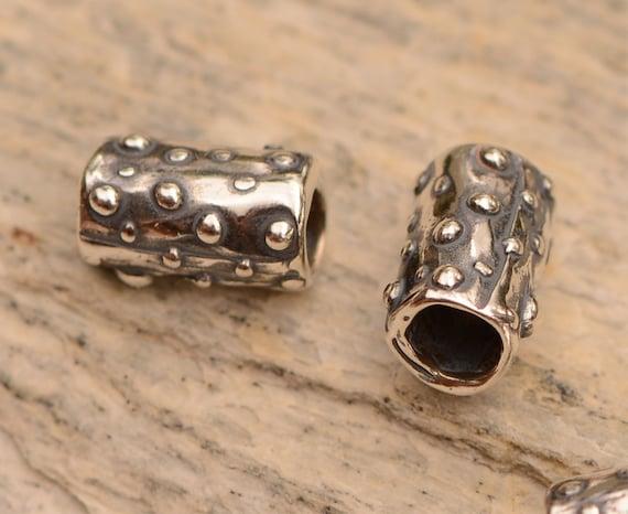 Sterling Silver Artisan Bead