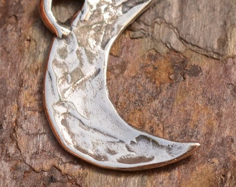Artisan Moon Charm in Sterling Silver, CH-92 (ONE)
