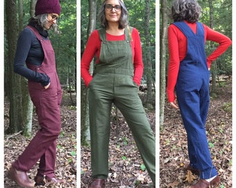 Unisex Overalls with full length pants available in XS to 3X
