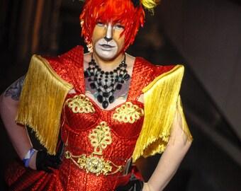 Fringed Ringleader Costume Size S-M