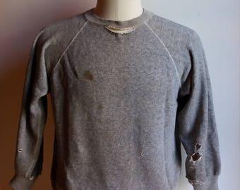Jahrgang zerstört 1950 Sweatshirt klein