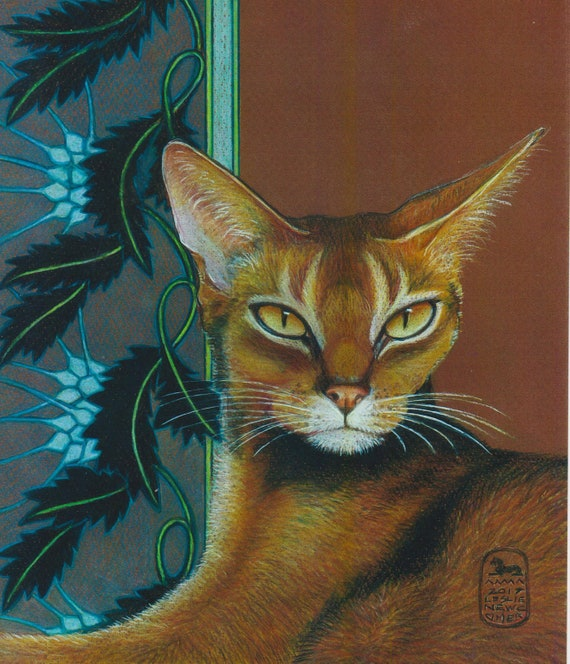 Abyssinian Cat Oregon