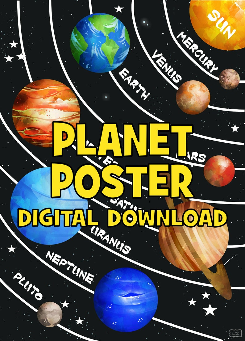 picture relating to Printable Planet identified as Printable Globe Poster - Science Instructor Clroom Lab
