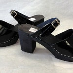 NEW  Highest Heeled Mary Jane in black patent