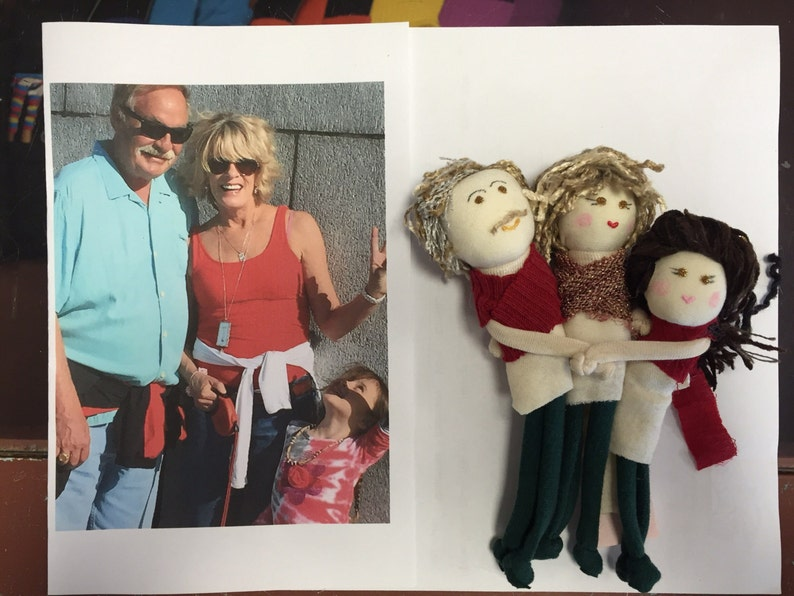 HUGS-3 family and friends soft ornament image 0