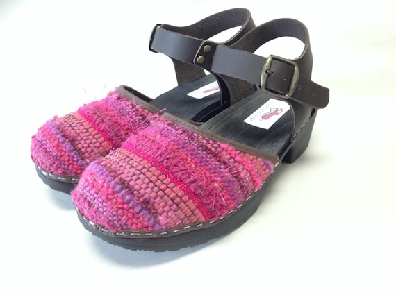 Create Your Own Handwoven Mary Jane Clog Etsy