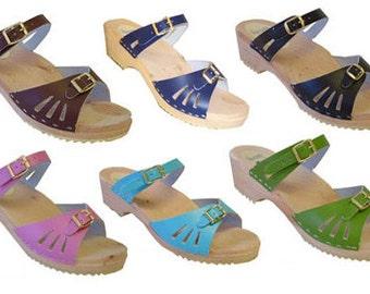 Design your own LOW Heel Vera Sandal