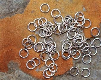 Silver 4.5mm Small Jump rings - Nunn Designs