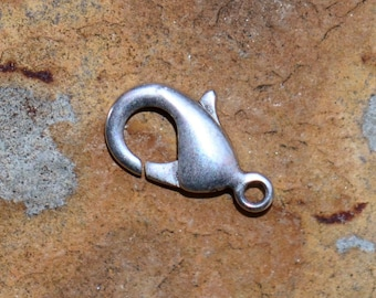Antique Silver 11.9 Lobster Clasp - Pick Your Own Bulk Rate