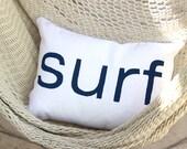 Surf pillow / Surf Decor / Surf Style / Beach Cottage / Beach House / Surf Style / Coastal Living / Tropical Decor / Surf Shack / Boho Beach