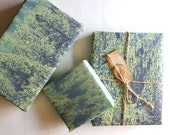 Wanderlust Gift /Nature Lover Gift / Nature Gift Wrap / Camping / Pine Forest / Forest Gift Wrap / Pine Tree Forest / Nature Lover Gift Wrap
