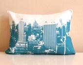 New York Pillow / NYC Skyline Pillow / Loft / NYC Skyline / Industrial / Modern / Urban Living / Loft Decor / Downtown Living